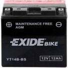 Exide Bike Maintenance Free 12V, 12Ah, YT14B-BS