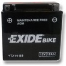 Exide Bike Maintenance Free 12V, 12Ah, YTX14-BS