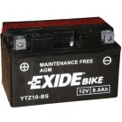 Exide Bike Maintenance Free 12V, 8,6Ah, YTZ10S-BS