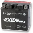 Exide Bike Maintenance Free 12V, 6Ah, YTZ7-BS