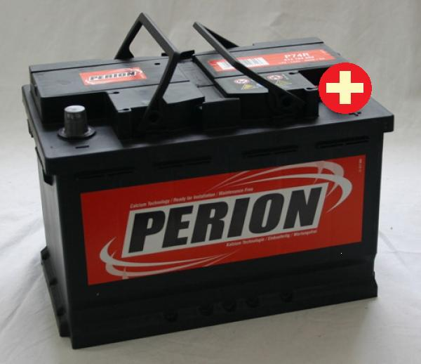 Perion Autobaterie Perion 74Ah 12V 680A 574 104 068